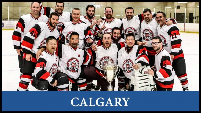 Hockey in Calgary, League team and player registration, stats, schedules. For men and women to play hockey in a fun and safe environment.