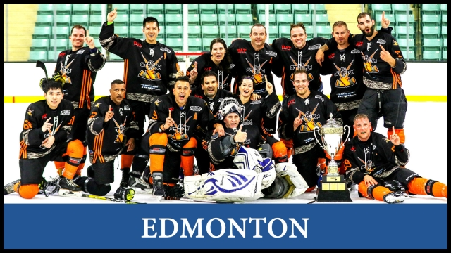 Hockey in Edmonton, League team and player registration, stats, schedules. For men and women to play hockey in a fun and safe environment.